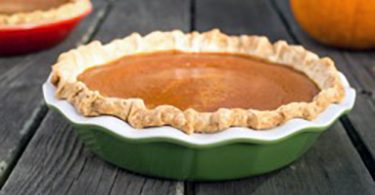 Low-Carb Pumpkin Pie Recipe